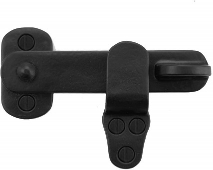 Brass Valley - 4 inch Black Flip Latch