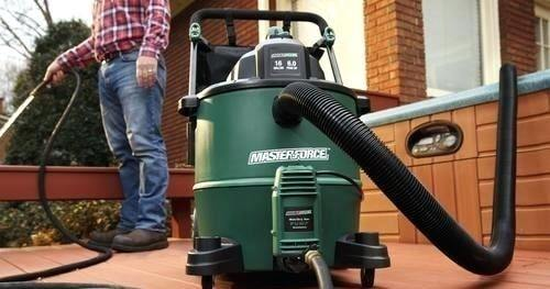 Shop Vac as a Water Pump