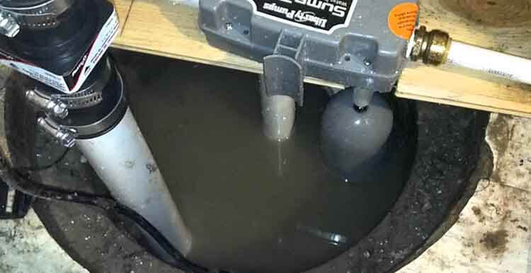 Water Powered Sump Pump