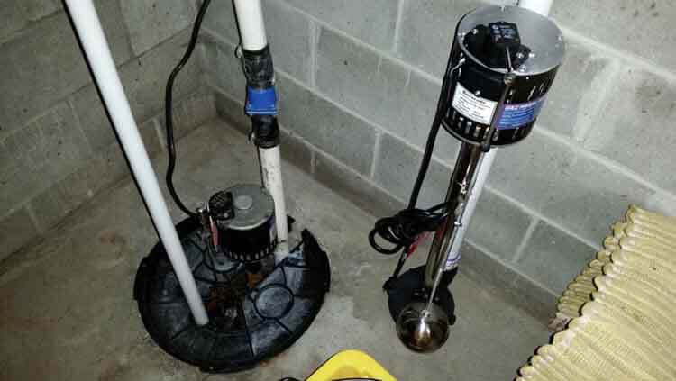 pedestal sump pump