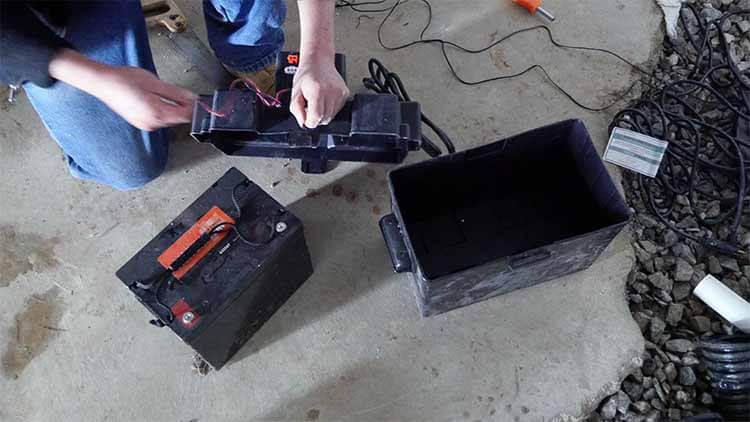 Installing Sump Pump Battery