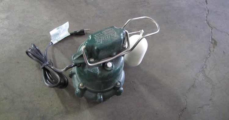 Zoeller M53 Sump Pump  for crawl space
