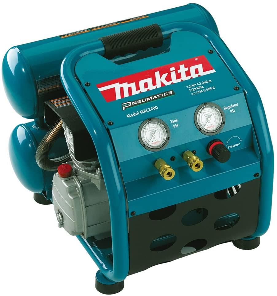 Makita MAC2400 Big Bore 2.5 HP Air Compressor For House